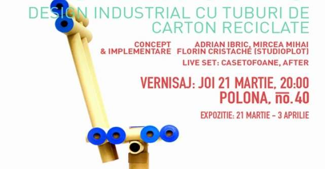 Design industrial concentrat pe reciclare, la Imbold, Galeria