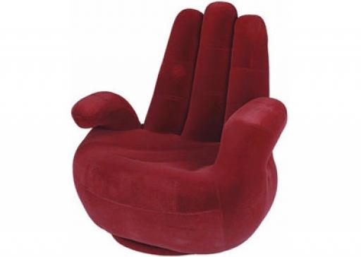 Fotoliu Unique Fingers Red