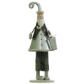 Decoratiuni Craciun: Decoratiuni Craciun Metal Santa