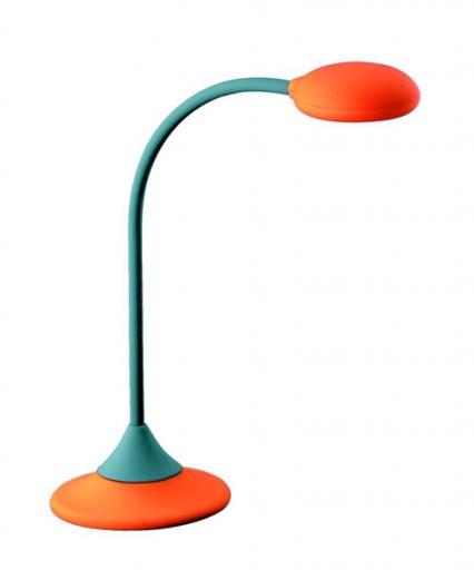 Lampa de birou portocalie