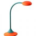 Lampi de birou: Lampa de birou portocalie