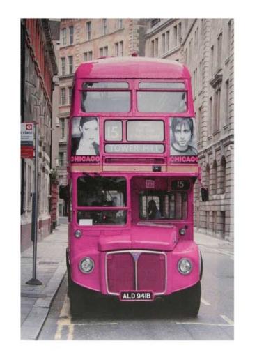 Tablou LONDON BUS