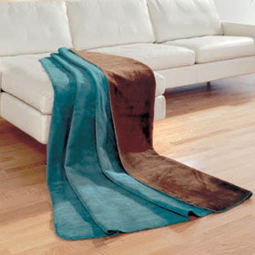 Pled Robe Blanket