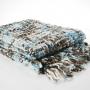 Patura BLANKET BIG MESH BLUE 170X130