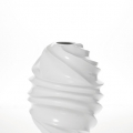Obiecte decorative: Vaza VASE WHITE TWIST 46