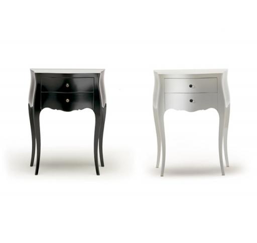 Comodine black&white Moda design