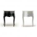 Comode: Comodine black&white Moda design