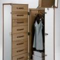 Corpuri de depozitare: Dulap Shipping Trunk White Cosmopolitan