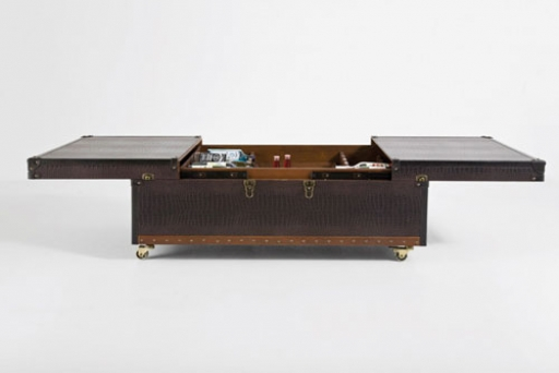 Masuta Coffee Table Bar Colonial