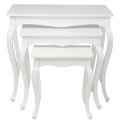 Masute: Table Pop Art White (3/Set)