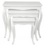 Table Pop Art White (3/Set)
