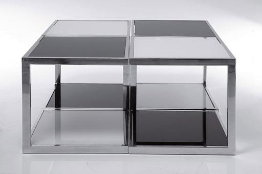 Coffee Table Black & White (4/Set)