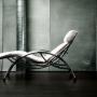 Relax Chair Soso Chrome/ Imitation Leather White