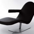 Sezlonguri: Relax Chair Lino Black AL