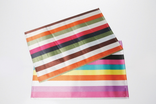 Place Mat Multicolore Stripes Assorted