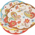 Accesorii bucatarie: Dinner Plate Paisley Assorted