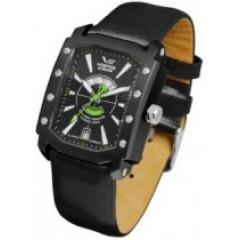 Ceas de mana barbatesc cu curea din piele neagra Vostok-Europe Arktika 2432/3404093