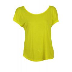 Tricou galben subtire Zara Laveh Yellow