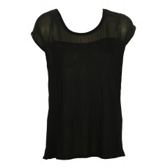 Tricou ZARA Wendy Black
