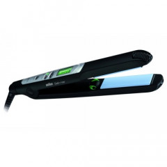 Placa de intins parul Braun ES2 Satin Hair 7, IONOTEC - Jet de ioni activi, Reglare temperatura 130-200 grade, Timp de incalzire 40 secunde, Lungime cablu 2m