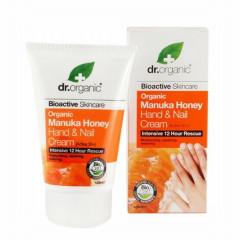 Dr organic - miere manuka - crema maini si unghii
