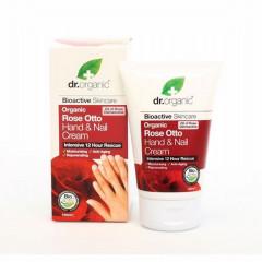 Dr organic - trandafir - crema maini si unghii