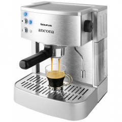 Espressor cafea Taurus Ancona, Putere 1050W, Rezervor 1.25 litri, (Inox)