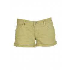 Pantaloni scurti Pull and Bear Haller Beige