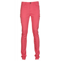 Pantaloni VILA Fahne Pink
