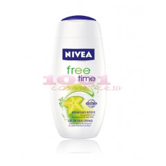NIVEA FREE TIME SHOWER GEL