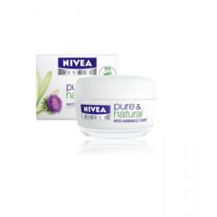 Crema de zi antirid Nivea Visage Pure & Natural