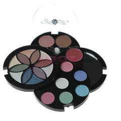 MAKEUP TRADING SET COSMETICE FASHION FLOWER COMPACT