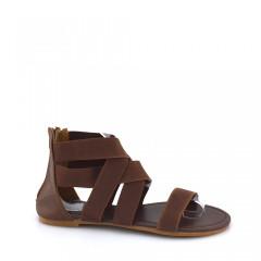 Sandale dama maro cu elastic