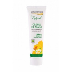 Natural crema de maini cu miere glicerina si unt de shea 100ml Gerocossen