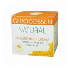 Natural crema nutritiva miere si masline 100ml Gerocossen