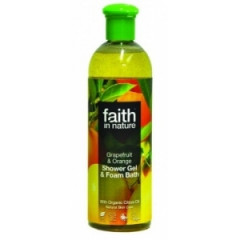 Gel de dus cu Portocale si Grapefruit 250 ml Faith
