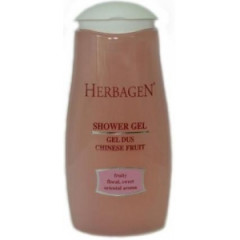 Gel de dus Chinese Fruit 250ml Herbagen