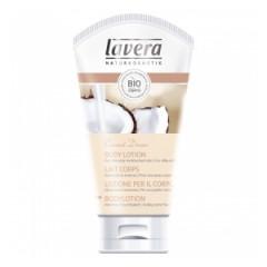 Lotiune BIO pentru corp cu VANILIE si COCOS Lavera 150 ml