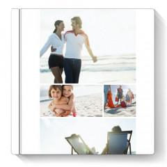 Fotocarte Simplu, Alb | Format Patrat