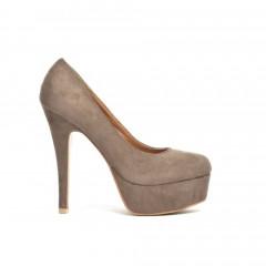 Pantofi Lisa Khaki 2
