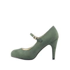 Pantofi verzi cu bareta de la Victoria Delef