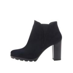 Pantofi OJJU bleumarin cu toc inalt