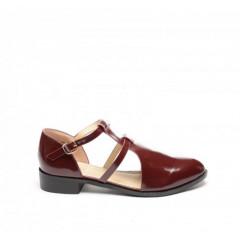 Pantofi Casual Seda Grena