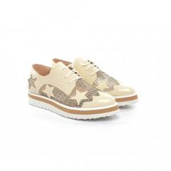 Pantofi Casual Mido Bej