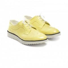 Pantofi Casual Alfred Galbeni