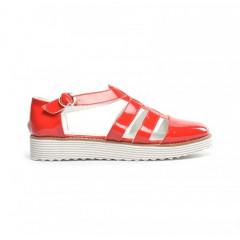 Pantofi Casual Omaha Rosii