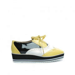 Pantofi Casual Graf Galbeni