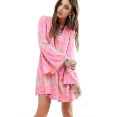 Rochie roz cu spatele gol