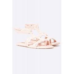 Sandale joase roz cu model inedit