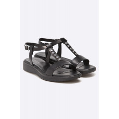 Sandale din piele cu platforma Vagabond